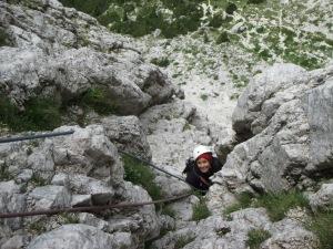 via della rampa piz ciavazes alpinismo femminile